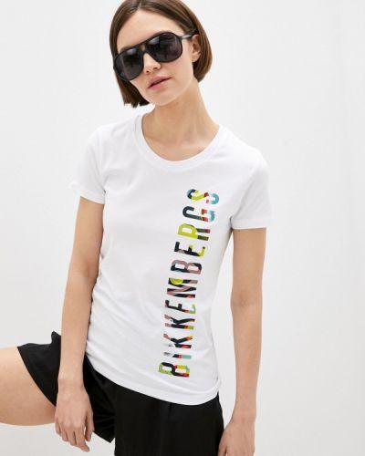 Белая футболка с короткими рукавами Bikkembergs