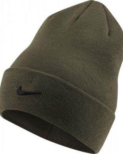 Спортивная шапка - зеленая Nike