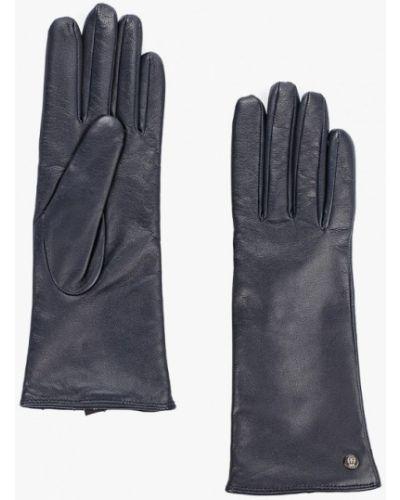 Кожаные перчатки синий Roeckl