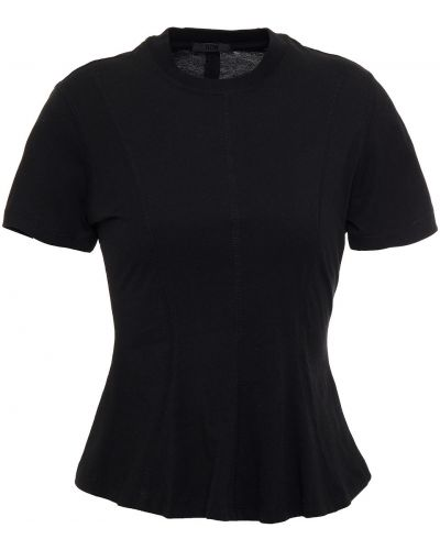 Czarna t-shirt bawełniana Atm Anthony Thomas Melillo