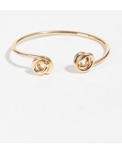 Золотой браслет металлический Parfois