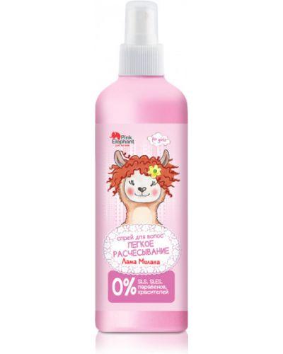 Розовый мягкий спрей для волос Pink Elephant