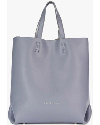 Кожаная сумка шоппер весенний Jane's Story