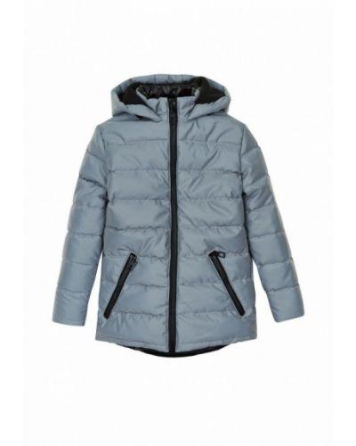 Серая утепленная куртка Garnamama