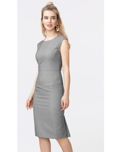 Платье - серое Pompa