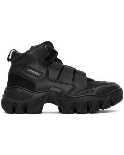 Czarne sneakersy Rombaut