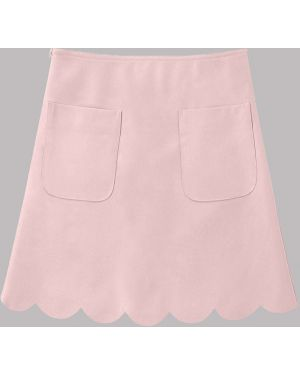 Кожаная юбка пачка Zaful