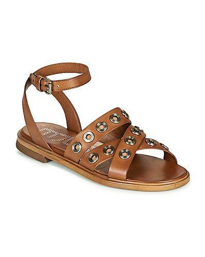 Brązowe sandały Mjus