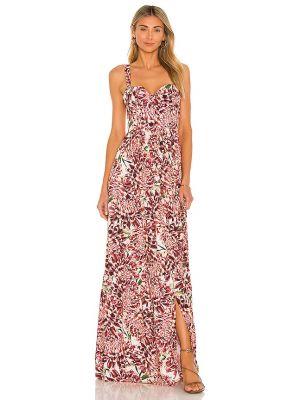 Хлопковое платье с карманами на молнии Agua Bendita