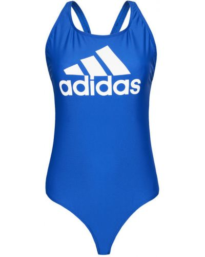 Niebieski strój kąpielowy Adidas