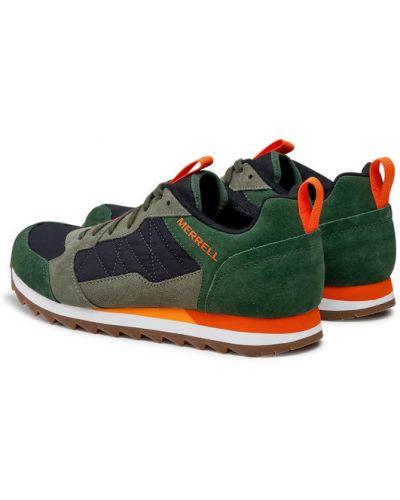 Zielone sneakersy Merrell