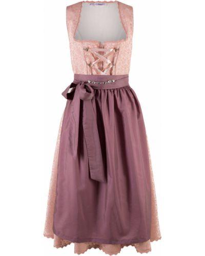 Платье винтажная розовое Bonprix