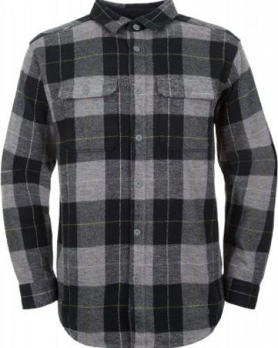 Рубашка с длинным рукавом фланелевая хлопковая Mountain Hardwear