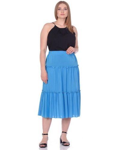Повседневная юбка на резинке из вискозы Blagof