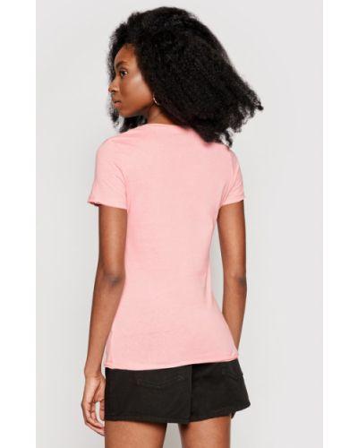 Różowy koszula jeansowa Pepe Jeans