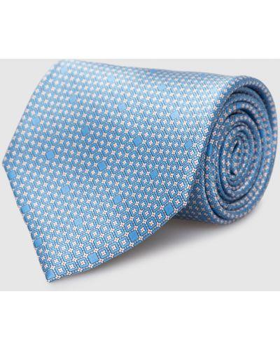 Шелковый деловой галстук Stefano Ricci