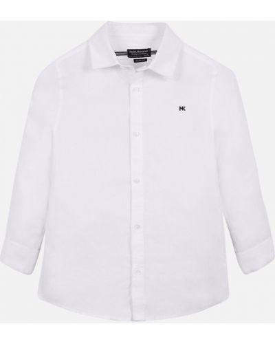 Рубашка с узором однотонная Mayoral
