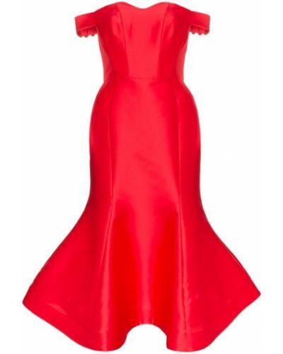 Приталенное расклешенное платье миди Vika Gazinskaya