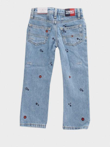 Прямые джинсы классические - голубые Tommy Hilfiger