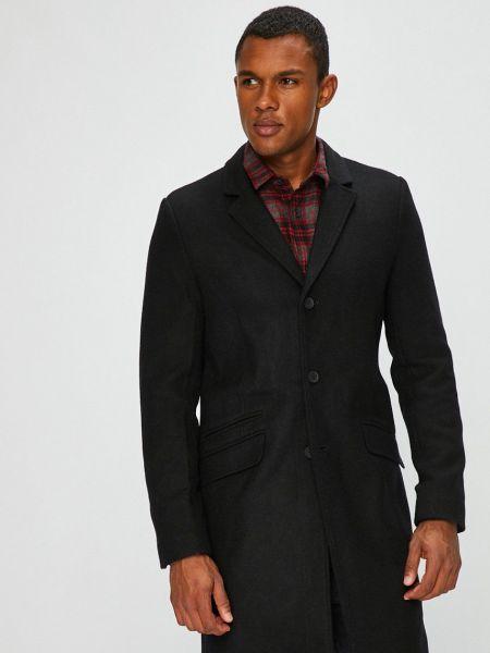 С рукавами шерстяное пальто классическое с карманами Only & Sons
