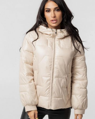Утепленная куртка - бежевая Whitefox