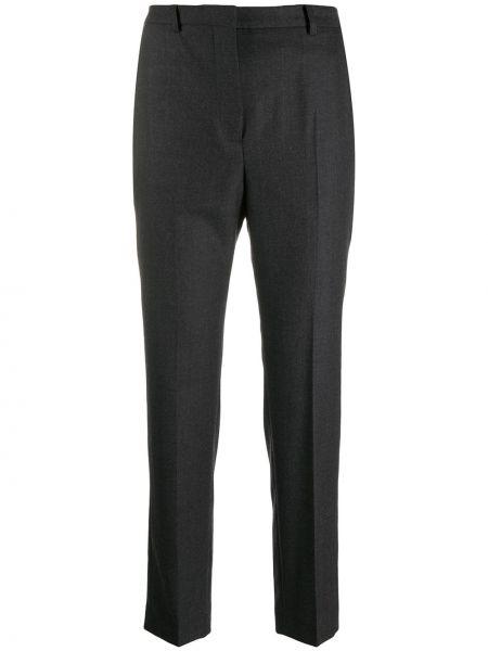 Брюки с завышенной талией брюки-хулиганы дудочки Incotex