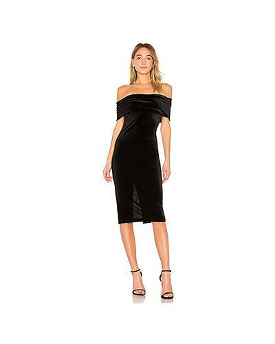 Платье с открытыми плечами с разрезом Bcbgeneration