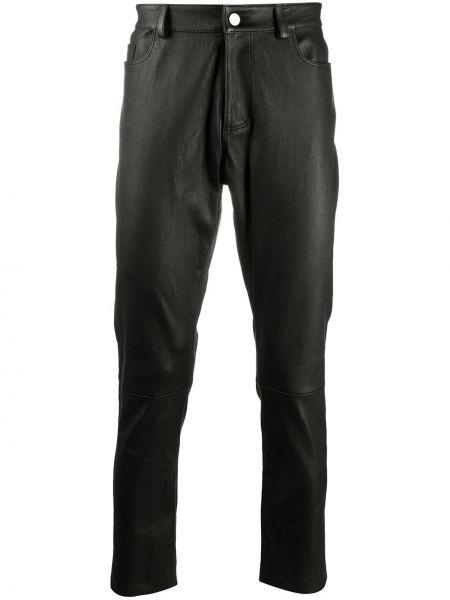 Классические прямые черные брюки с нашивками Desa 1972