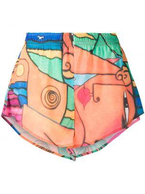 Пляжные короткие шорты эластичные Esteban Cortazar