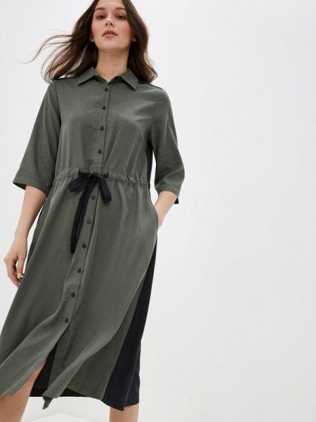 Зеленое платье Savage