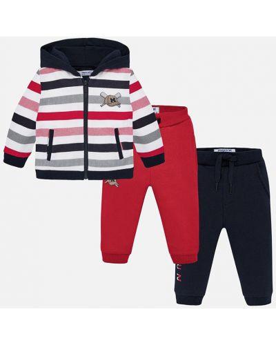 Спортивный костюм красный с карманами Mayoral