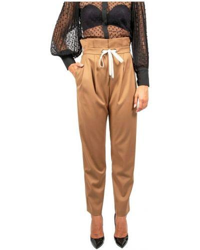 Brązowe spodnie Hanita