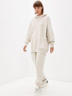 Бежевый зимний спортивный костюм Ko'msi