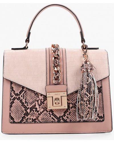 Розовая сумка с ручками Aldo