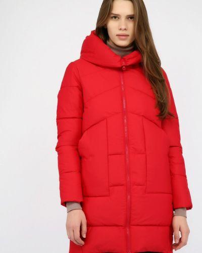 Утепленная куртка - красная Monton