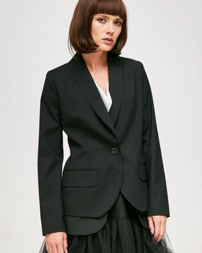 Черный пиджак Yulia'sway