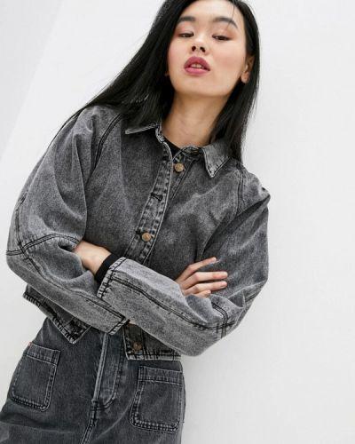 Серая джинсовая куртка Miss Sixty