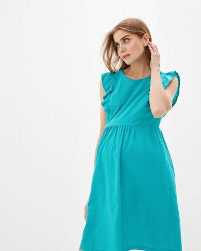 Платье - бирюзовое очаровательная адель