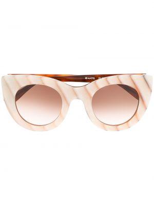 Прямые муслиновые солнцезащитные очки хаки Thierry Lasry