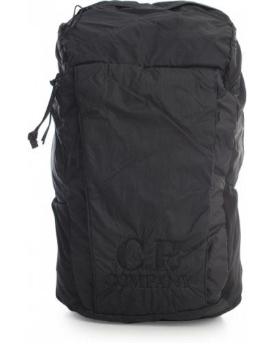 Czarny plecak sportowy C.p. Company