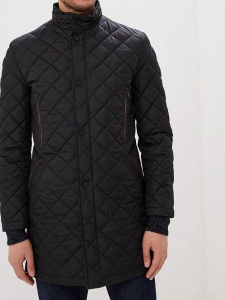 Утепленная куртка демисезонная черная Bazioni