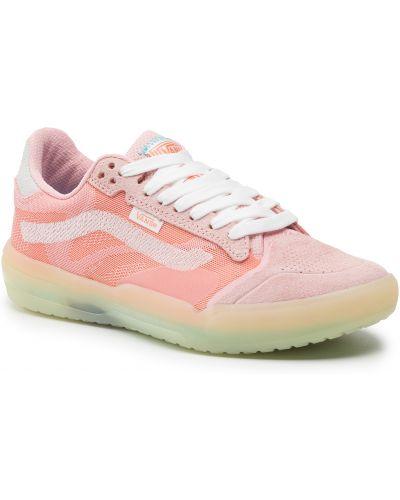 Sneakersy - różowe Vans