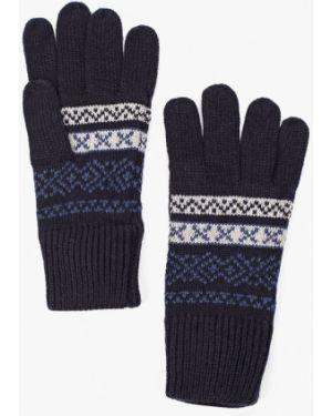 Текстильные синие перчатки Marks & Spencer