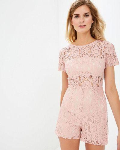 Комбинезон с шортами розовый Gepur