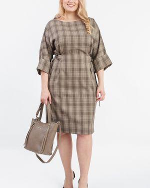 Платье с поясом через плечо со складками Lacywear