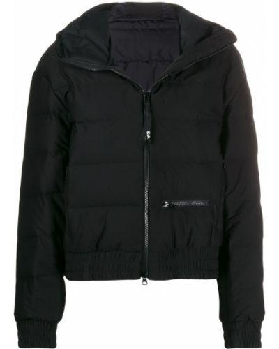 Черная длинная куртка с манжетами Y-3