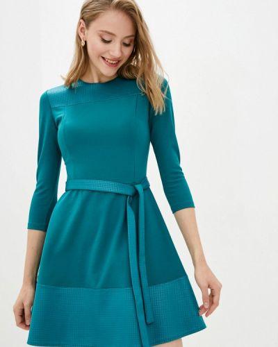 Прямое платье - бирюзовое Vergans