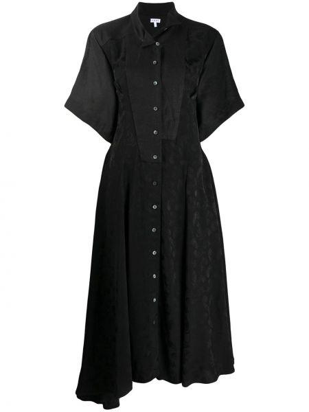 Платье мини на пуговицах платье-рубашка Loewe