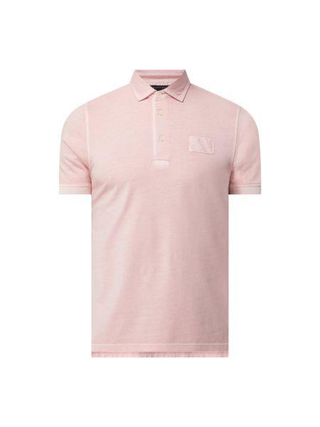 T-shirt bawełniana - różowa Tommy Hilfiger