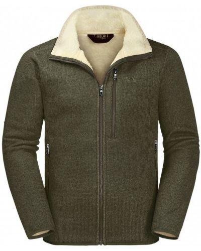 Флисовая куртка - хаки Jack Wolfskin